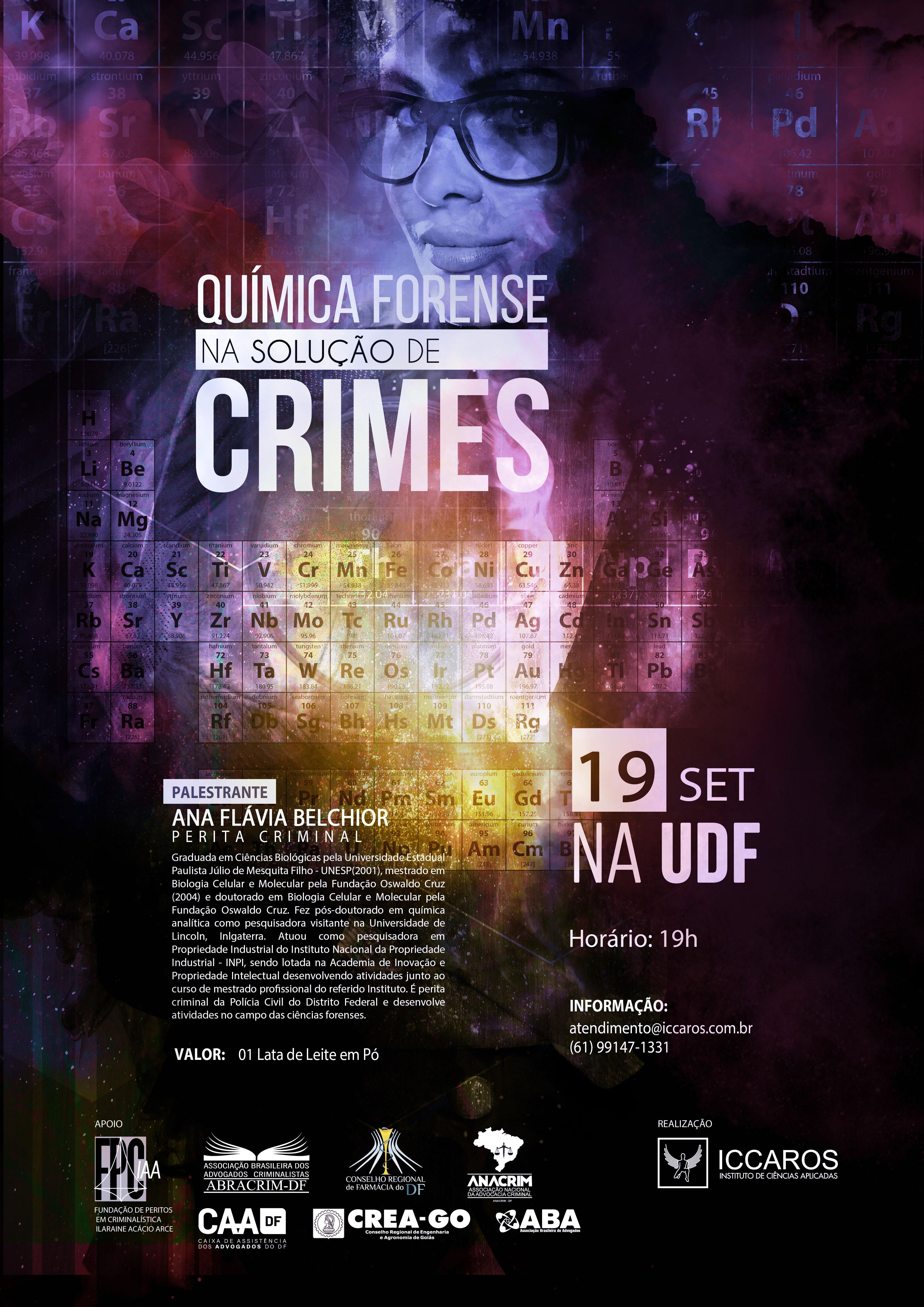 O papel da química forense na solução de crimes